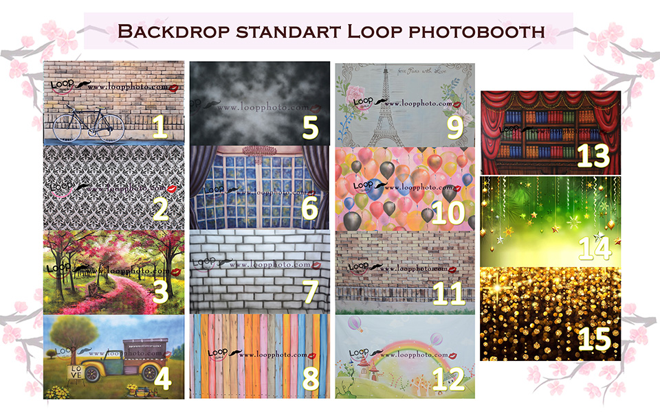 Backdrop Loop photobooth