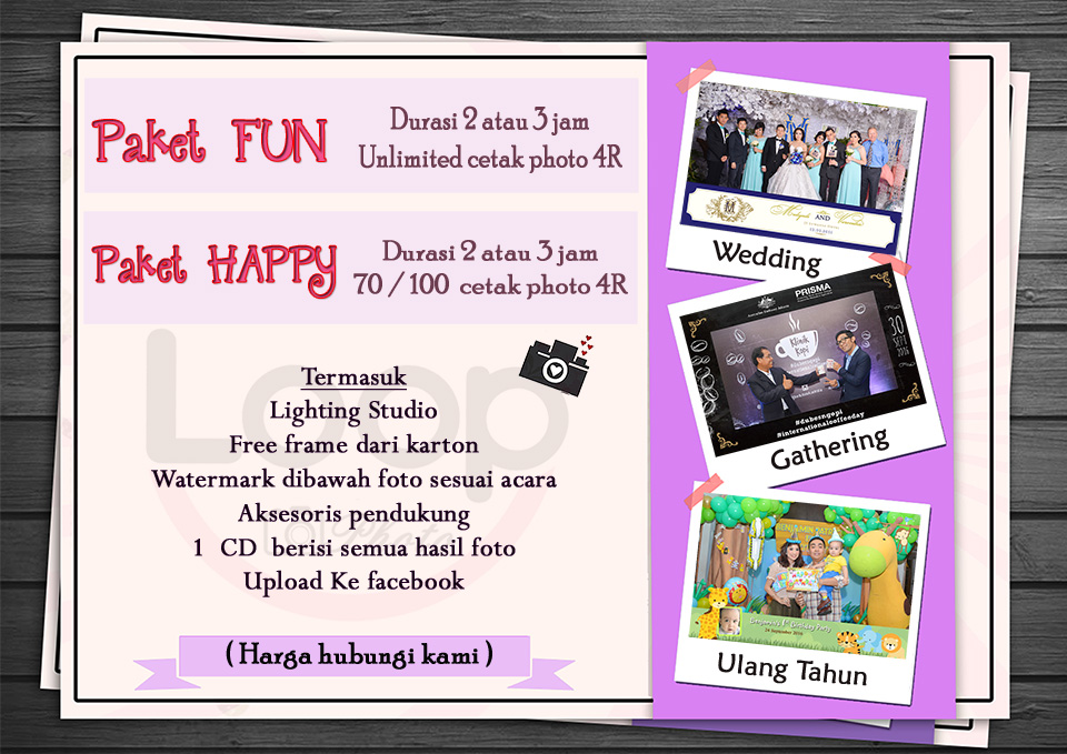 Paket photobooth